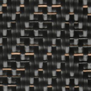 Moqueta Vinílica Trenzada Graphic HERRINGBONE-BLACK