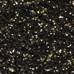 Moqueta Brillante para Eventos Expoglitter 1910 Black With Gold Glitters